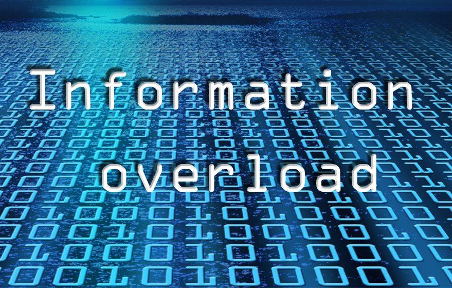 informasjonsforgiftning informasjonsskred information overload skred av informasjon