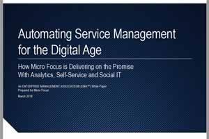 Automatisering og digitalisering av Service Management